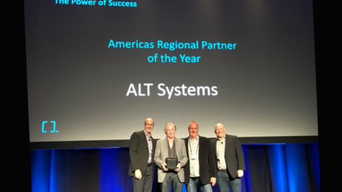 Regional Partner of the Year Award at the Quantum Reseller Meeting